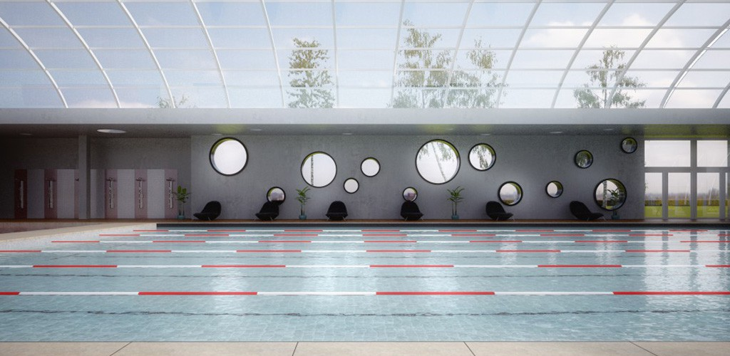 Proyecto techado piscina CARP